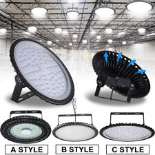 UFO LED High Bay Lights 500W 300W 200W 100W 50W Warehouse Led Shop Light Fixture