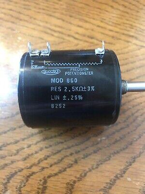 Spectrol Mod 860 Potentiometer MOD860 2kω for sale online