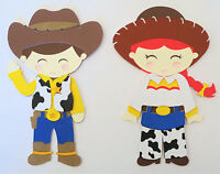 Toy Story Woody And Jessie Paper Die Cut Scrapbook Embellishment