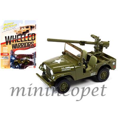 JOHNNY LIGHTNING JLCP7272 A KOREAN WAR WILLYS M38A1C JEEP US ARMY 1//64 GREEN
