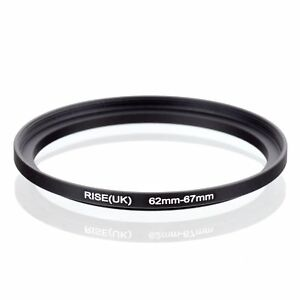RISE-UK-62mm-67mm-62-67-mm-62-to-67-Step-Up-Ring-Filter-Adapter-black