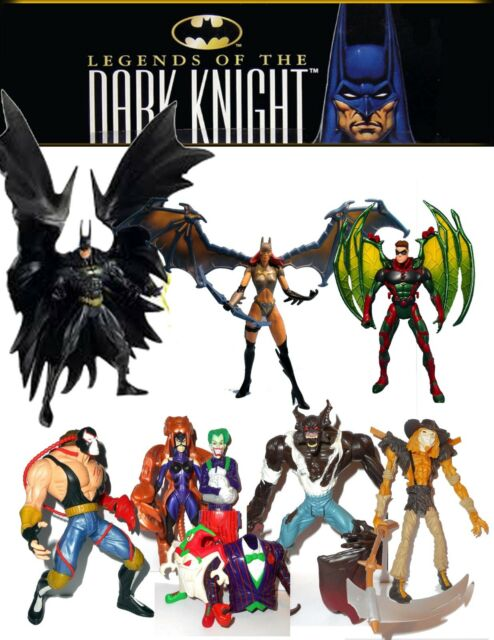 Legends Of The Dark Knight Action Figures! Catwoman, Joker, Batman, Bane, n more