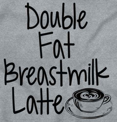 Double Fat Breastmilk Latte Gerber OnesieBreastfeeding Caffeine Baby Romper