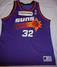 Jason Kidd Phoenix Suns CHAMPION NBA Basketball Jersey Snapback sz 48 XL purple