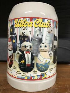 REDUCED WEBCO The Giant Lidded Beer Stein Utica Club Made in Germany