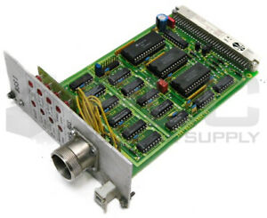 INDRAMAT RSS 1-6 PLC BOARD CARD, RSS1 TRANS BUS, 280, 109-0520-4902-01