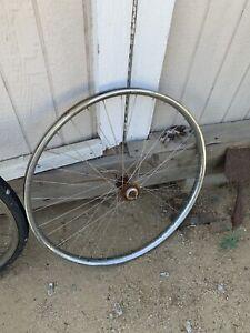 prewar bicycle wheels 28 Wood Metal