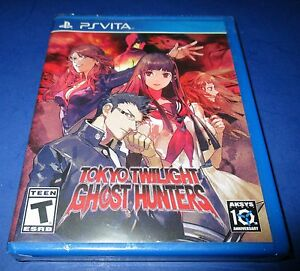 Details about Tokyo Twilight Ghost Hunters Sony PlayStation Vita *Factory  Sealed! *Free Ship!