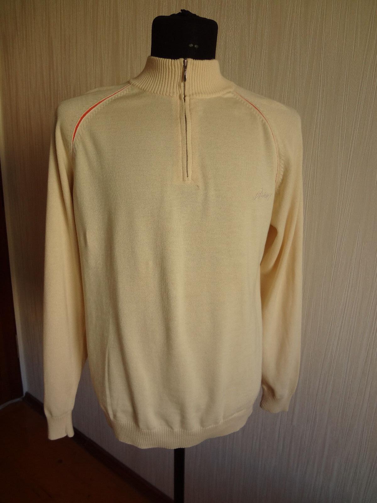 Brioni  Herren 1\4 Zip Sweater Sz.L