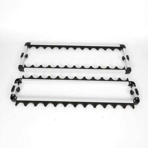 24 Ruten Angelruten Rutenständer Stark Aluminium Rutenhalter Angeln Rutenständer