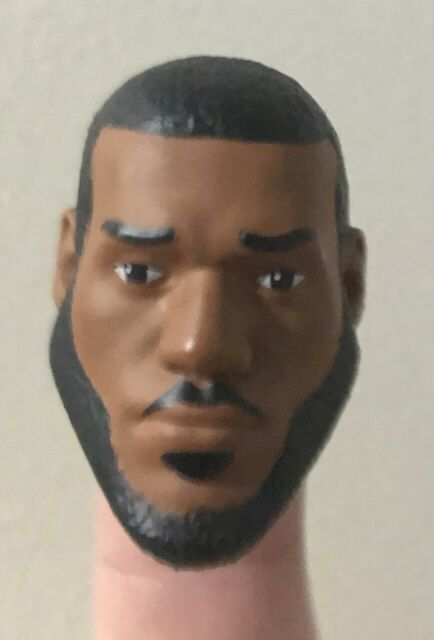 LeBron James Action Figure Head Space Jam 2 A New Legacy For Customs