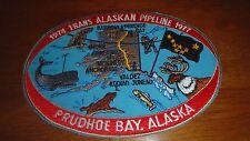 1974 TRANS ALASKAN OIL  PIPELINE PATCH MOBILE OIL EXXON SUNOCO TEXACO BX X  174