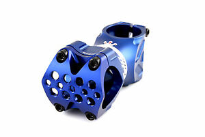 Relic-Spear-MTB-Stem-Forged-Aluminum-31-8mm-bar-bore-Ext-70mm-Blue