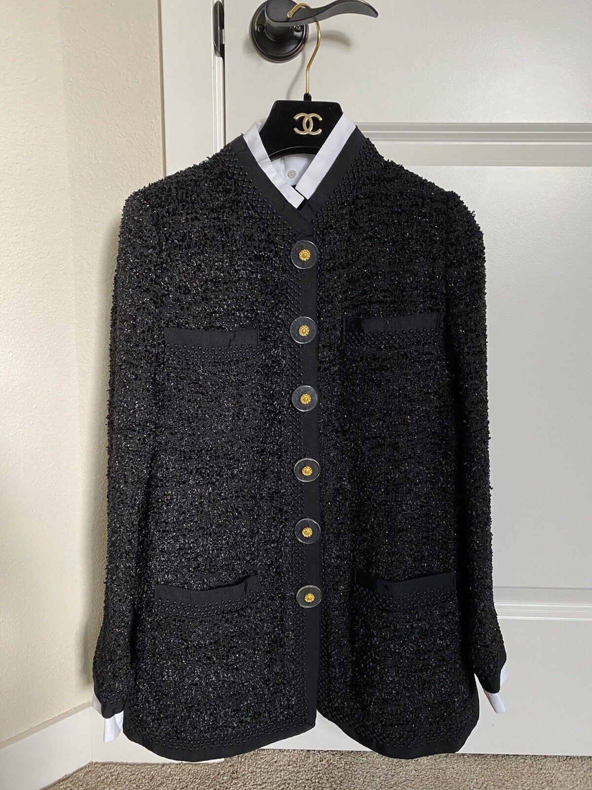 Authentic Chanel Tweed Jacket 2019 Cosmopolite - image 1