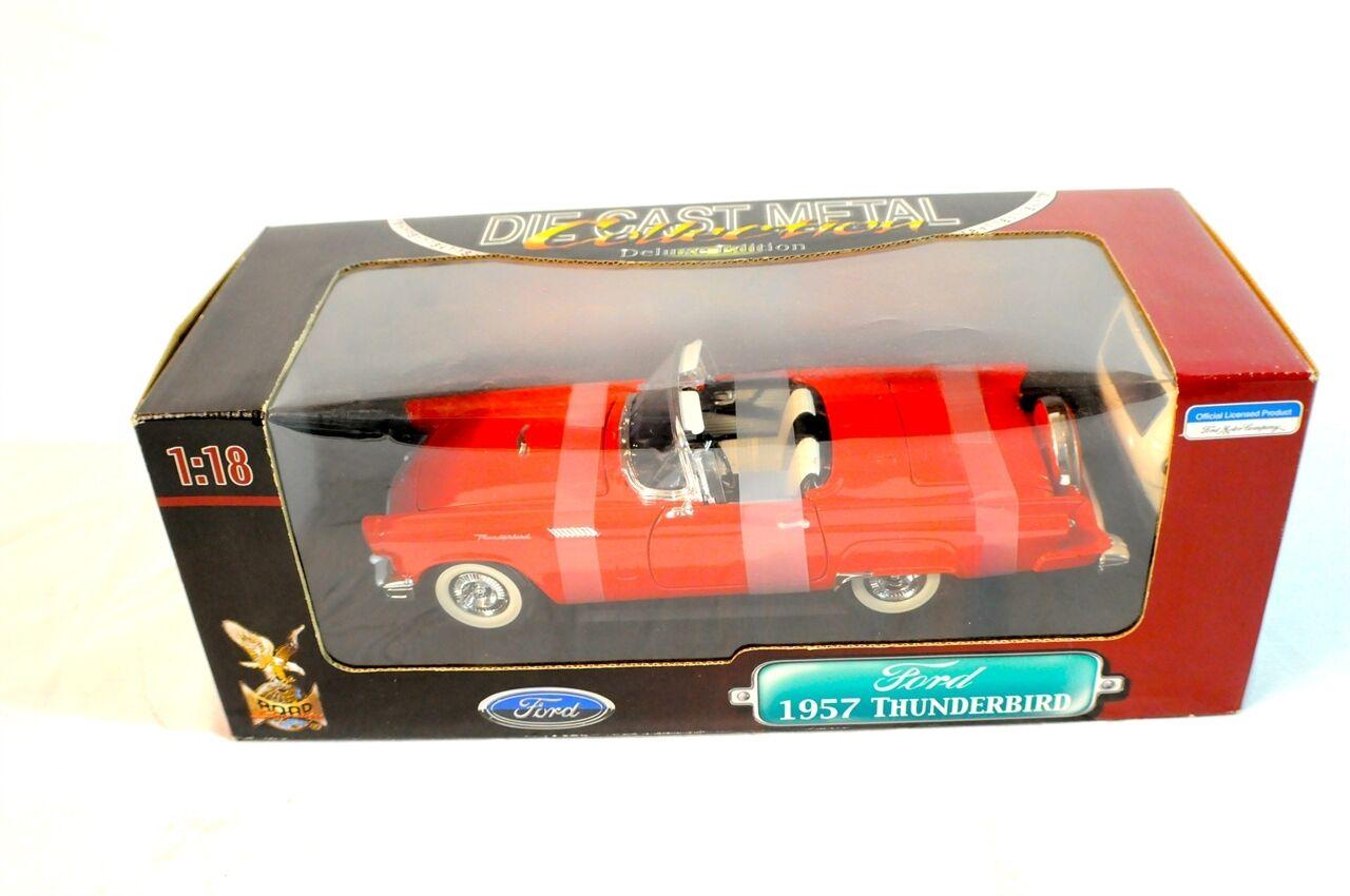 Road Signature 1957 Ford Thuderbird Die Cast Metal Metal Metal Car 3b4665