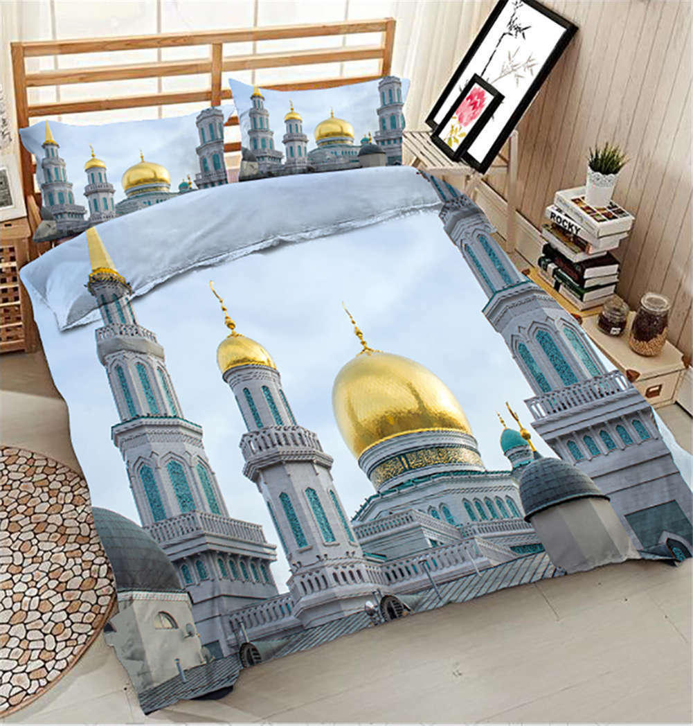 Stately Petersburg 3D Printing Duvet Quilt Doona Covers Pillow Case Bedding Sets