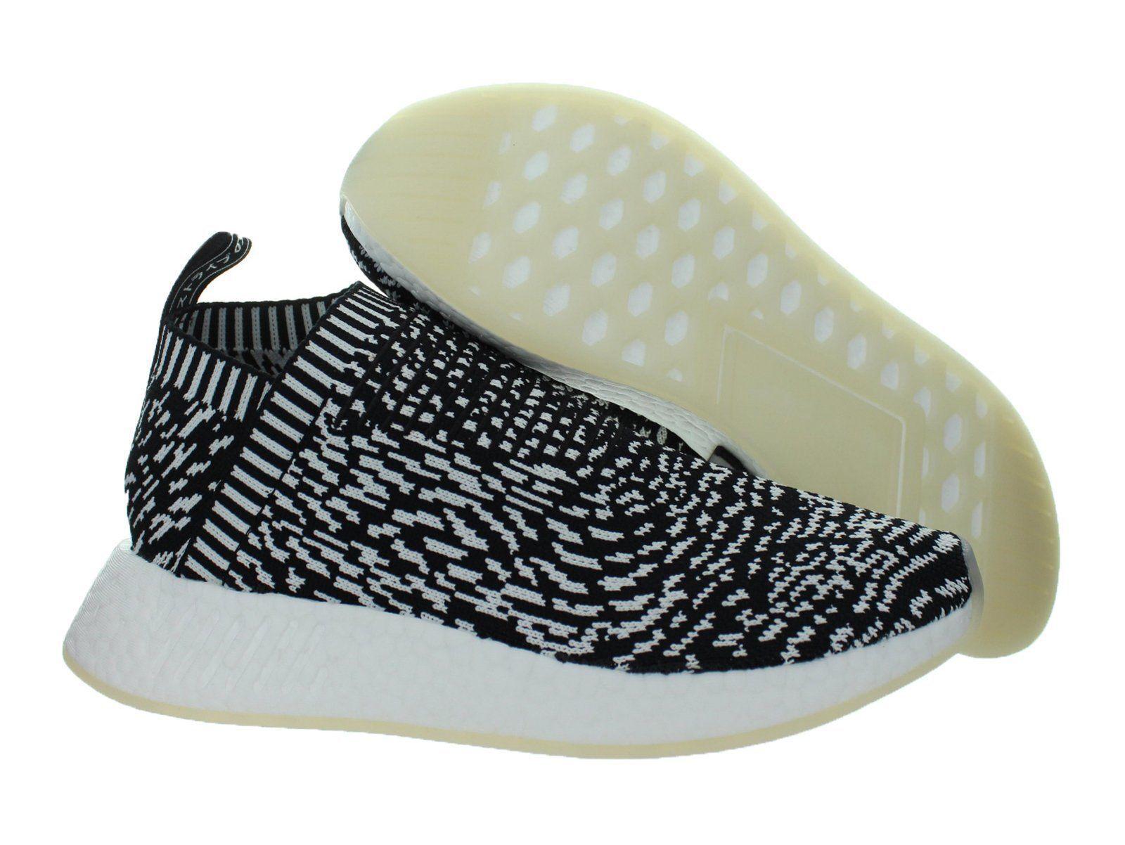 Adidas Black NMD_CS2 Primeknit City Sock 2 Sashiko Core Black Adidas White BY3012 Mens Shoes bdfdda