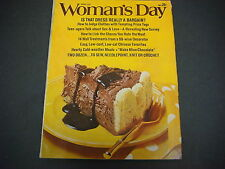 Woman's Day Magazine,March 1973,Bargain, Clothes,Sex,Love,Chinese Favorites