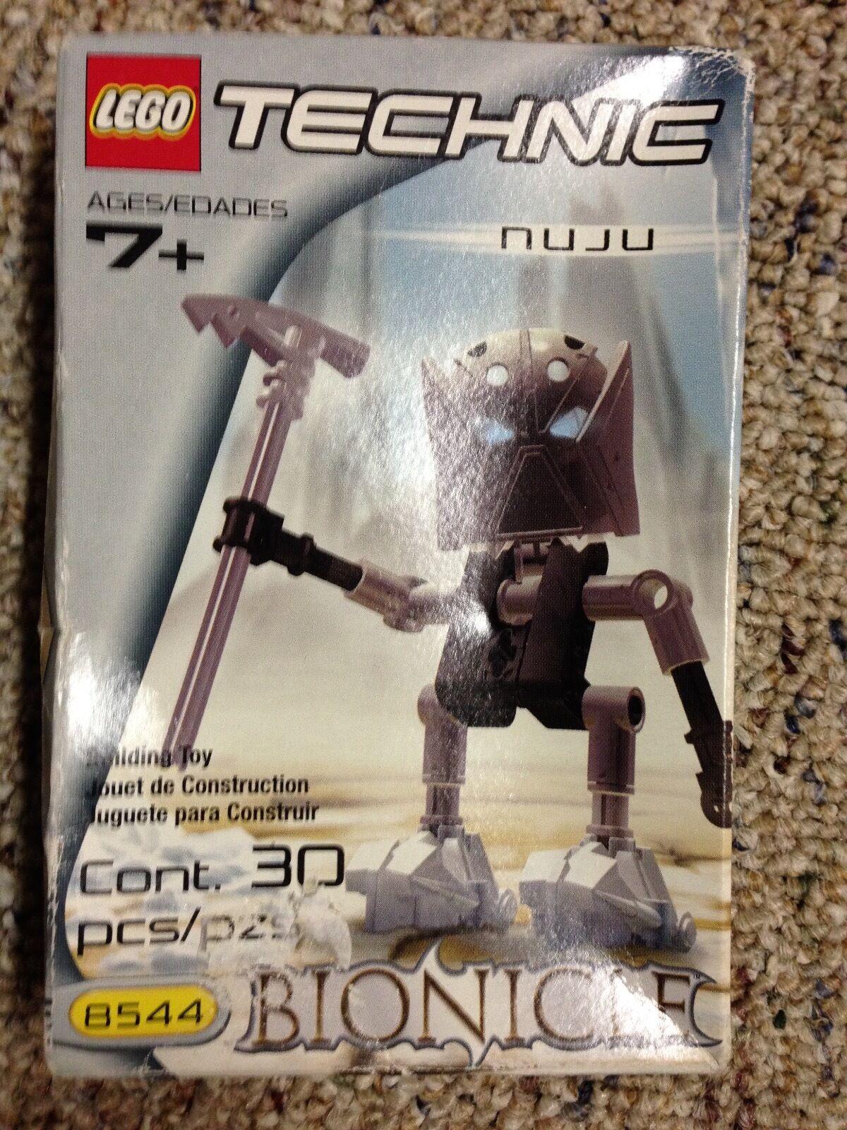 LEGO Bionicle NIB Matoran Nuju (8544) NEW NIB Bionicle RARE 1933cf