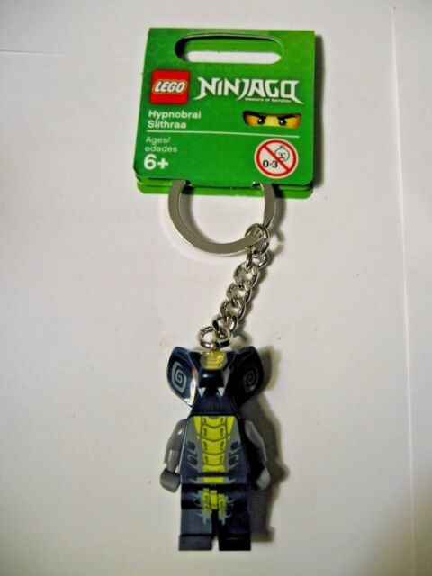 Retired! Brand New With Tags Lego Ninjago Movie Lot of 7 Minifigure Keychains