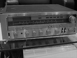KR-8010 VINTAGE RECEIVER WARM WHITE LED(9-LAMPS)METER STEREO AM-FM DIAL Kenwood