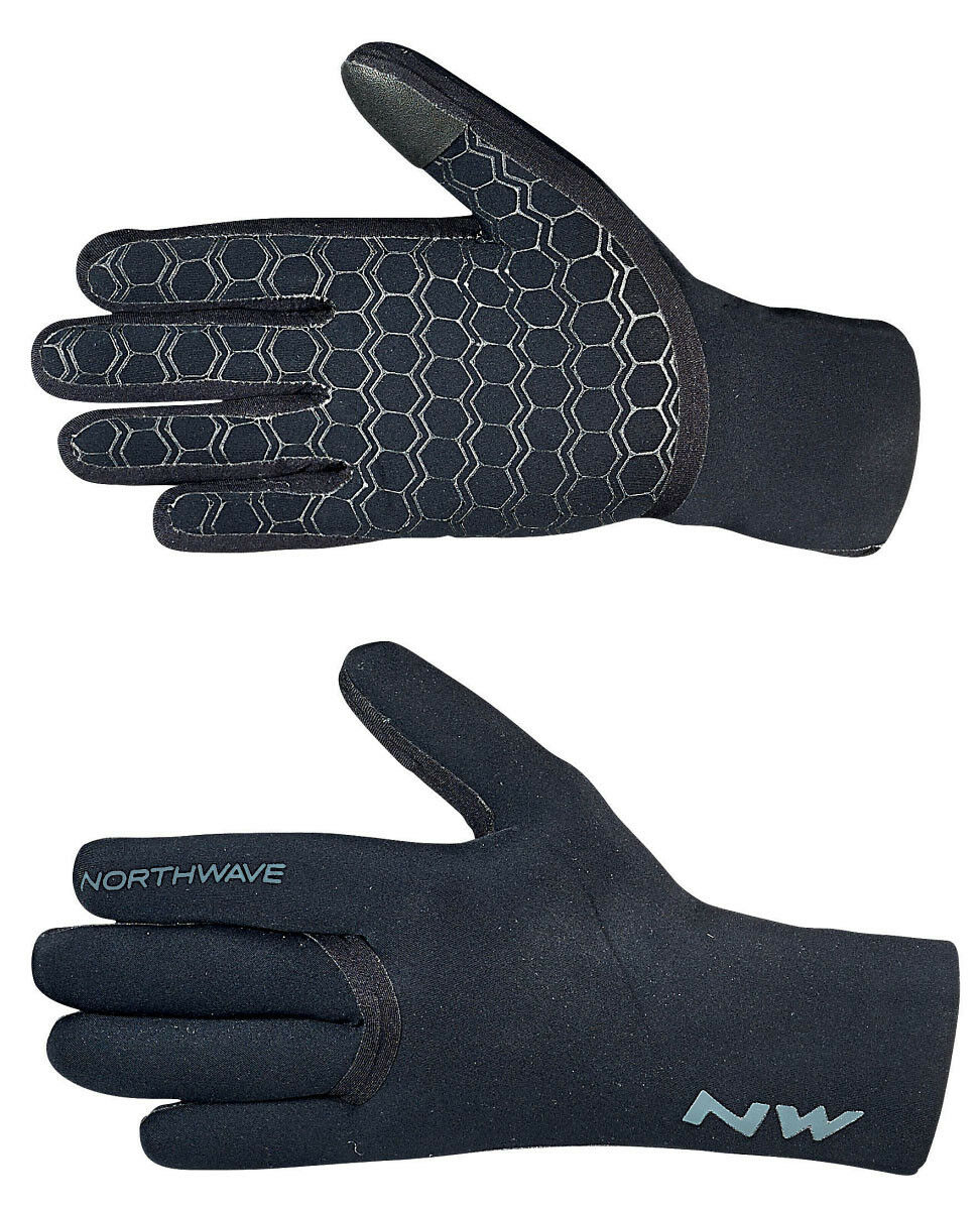 Northwave Storm Winter Fahrrad Handschuhe wasserdicht black 2019