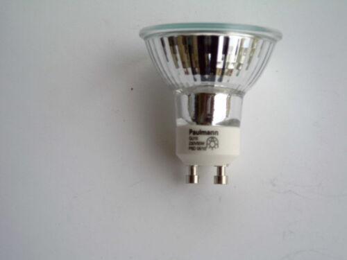 10 St Paulmann GU10 HALOGEN Reflektor 50 Watt 836.56 Ø 51 mm 230 V