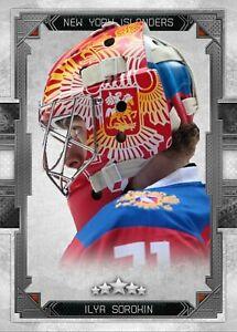 Ilya Sorokin New York Islanders Rookie CUSTOM MADE Card