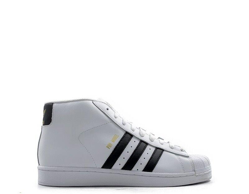 Scarpe ADIDAS Uomo scarpe da ginnastica ginnastica ginnastica  BIANCO Pelle naturale,PU S85956-U cb136c