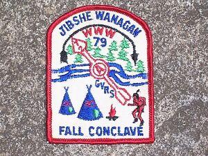BSA-Boy-Scout-Jibshe-Wanagan-1972-Patch-Boy-Scout-Patch-Vintage