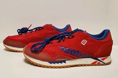 Excellent Red Women/'s Shoes DV7196 Reebok Classic Leather Ripple