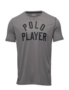8f04819a447 POLO Ralph Lauren Active Fit Performance Polo RLX T-Shirt ~ Grey ...