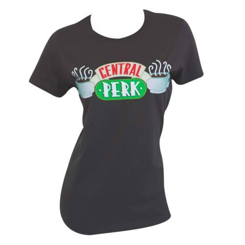 Friends Central Perk Women/'s Tee Shirt Grey