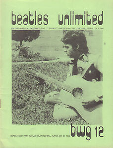 BEATLES-UNLIMITED-BWG-1978-nr-12-DUTCH-MAGAZINE-FOR-FANS