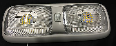 RV LED 12v Fixture Ceiling Camper Trailer Marine Double Dome Light