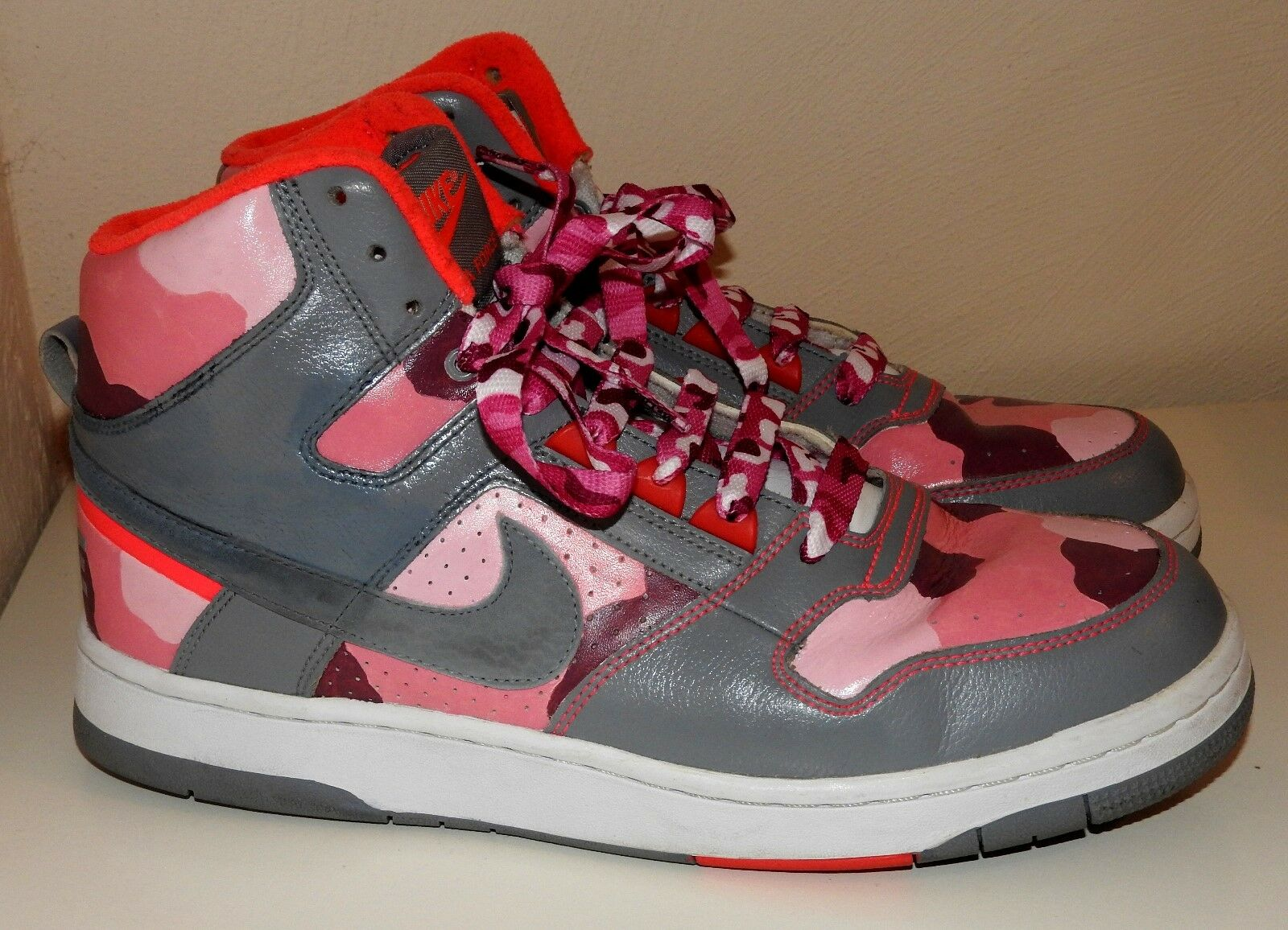 Pink Camo Nike Delta sneakers Force unique hand-painted Trainers sneakers Delta camouflage fbbe51