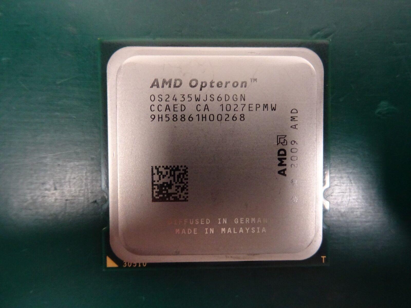 10 x AMD Opteron Processor CPU 2435 OS2435WJS6DGN 2.6GHz 6 Core 115w JOB LOT