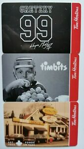 2020-TIM-HORTONS-WAYNE-GRETZKY-GIFT-CARDS-Set-of-3-FREE-ship-Unloaded