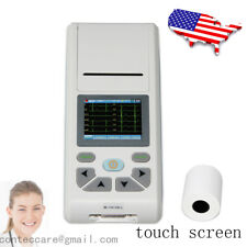 Portable Digital Single 1 Channel Electrocardiograph Ecg Ekg Machine Pc Swusa