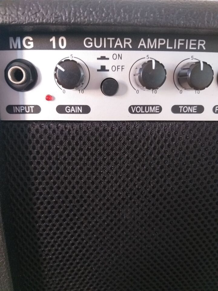 Guitar amplifier mg 10, Ukendt Mg 10