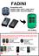 FADINI JUBI 433 2TR JUBI SMALL Compatible Remote Control Rolling code 433.92MHz.