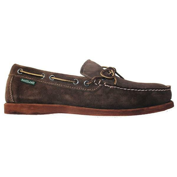 Eastland Yarmouth - Dark Olive Suede Boat shoes 7766-55