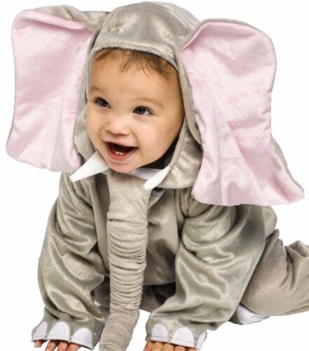 Elephant Costume Child Infant Toddler Plush Cuddly Little Lil 6-12M 12-24M