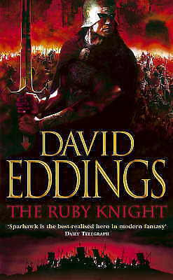 """AS NEW"" Eddings, David, The Ruby Knight (The Elenium Trilogy), Paperback Book"