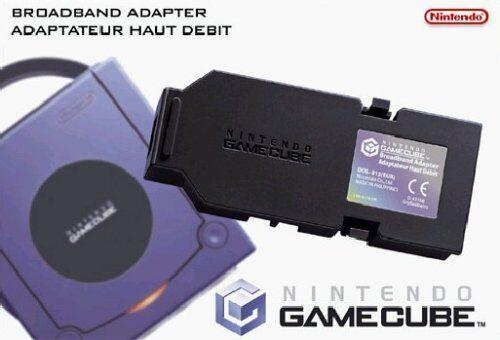 ## Gamecube Broadband/Long Band / Lan Adapter [DOL-015] (Without Packaging) ##