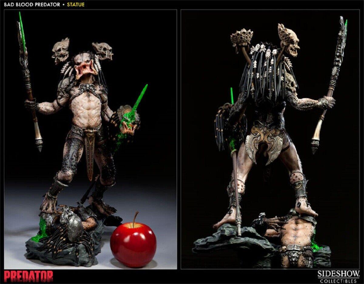 SIDESHOW Exclusivo     nuevo    sangre mala Polystone  4 1500 Estatua Figura Alien Premium