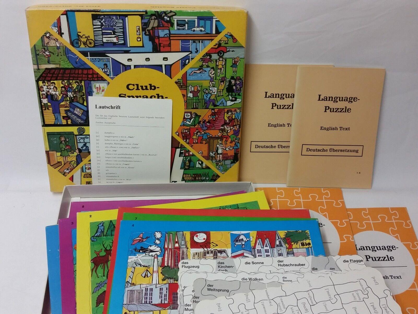 La paix est est est une bénédiction de fruit Club de langue-Puzzle English-gerFemmeo-RARE!!! de visaphon 1973!!! ce6ec7