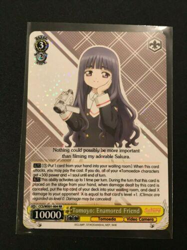 Enamored Friend CCS//WX01-004 RR Weiss Schwarz Cardcaptor Sakura Tomoyo