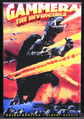 "Gammera the Invincible 2/"" X 3/"" Fridge Gamera Godzilla Locker Magnet"