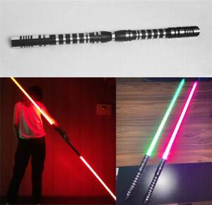 2PCS-Lightsaber-Star-Wars-Dueling-Force-FX-Jedi-Metal-Hilt-Toy-16-Colours-Sword